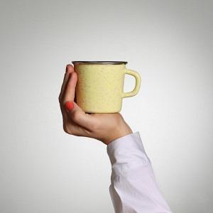 Kaffeetasse Zucker-Chügeli-Gelb