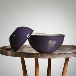 Schüssel DUO, Ø 22 & 30 cm, 2,5 und 5l, Vitelotte Violette