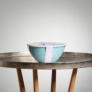 Schüssel-Set UNO, Ø 22 cm, 2,5 l, Glatsch Blu inkl. Deckel, Dichtung und Band